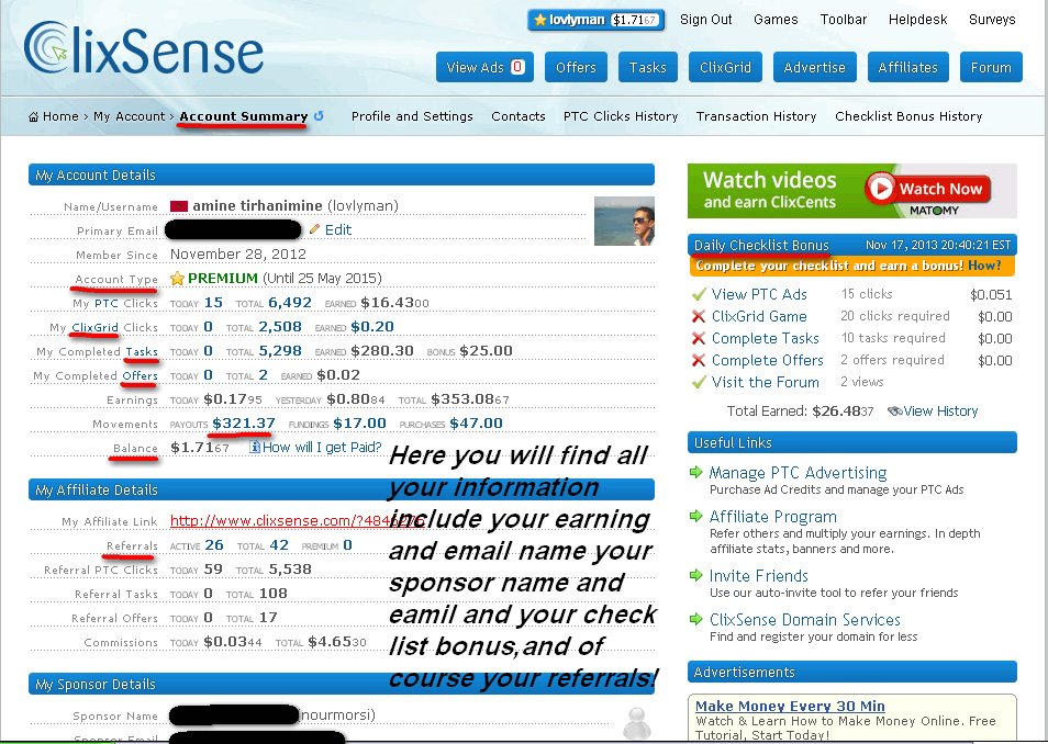 clixsense com